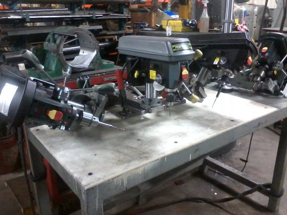 Drilling Machine Table