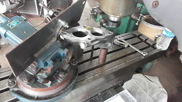 Milling a Manifold