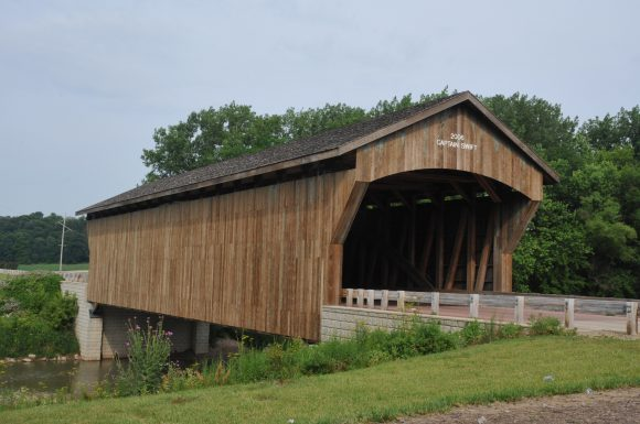 Captain Swift Covered Bridge Bureau County IL