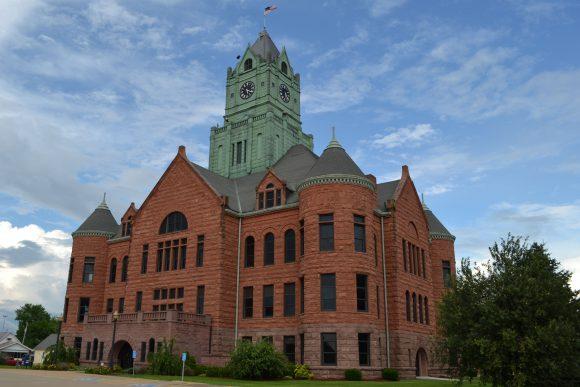 Clinton County Courthouse Clinton Iowa